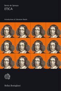 Libro Etica dimostrata secondo l'ordine geometrico Baruch Spinoza