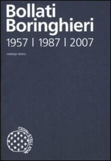 Catalogo storico delle edizioni Bollati Boringhieri 1957-1987-2007 - copertina