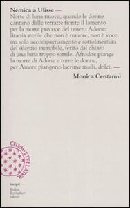 Libro Nemica a Ulisse Monica Centanni