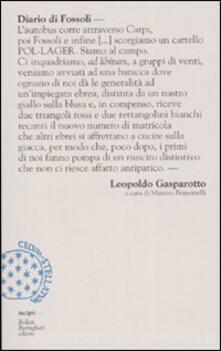 Fondazionesergioperlamusica.it Diario di Fossoli Image