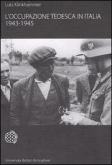 L' occupazione tedesca in Italia. 1943-1945 - Lutz Klinkhammer - copertina
