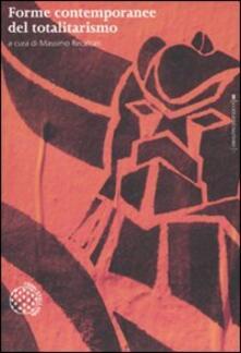 Forme contemporanee del totalitarismo - copertina