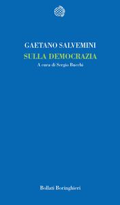 Libro Sulla democrazia Gaetano Salvemini