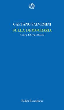 Sulla democrazia - Gaetano Salvemini - copertina