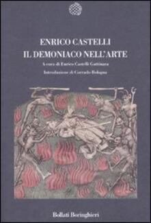 Il demoniaco nell'arte - Enrico Castelli - copertina