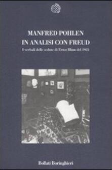 In analisi con Freud. I verbali delle sedute di Ernst Blum del 1922 - Manfred Pohlen - copertina