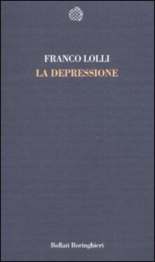 La depressione - Franco Lolli - copertina