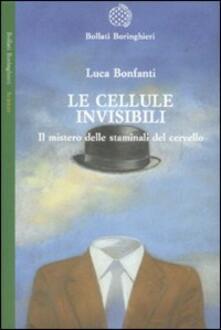 Le cellule invisibili. Il mistero delle staminali del cervello - Luca Bonfanti - copertina