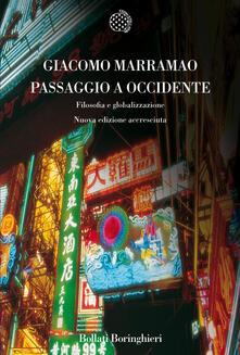 Passaggio a Occidente. Filosofia e globalizzazione - Giacomo Marramao - copertina