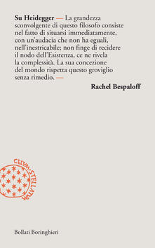 Su Heidegger - Rachel Bespaloff - copertina