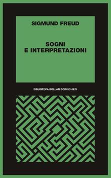 Sogni e interpretazioni - Sigmund Freud - copertina
