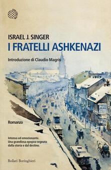 I fratelli Ashkenazi - Israel J. Singer - copertina