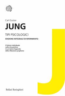 Tipi psicologici - Carl Gustav Jung - copertina