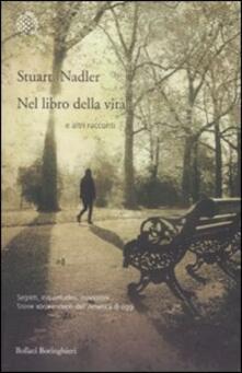Nel libro della vita e altri racconti - Stuart Nadler - copertina