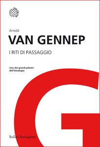 Libro I riti di passaggio Arnold Van Gennep