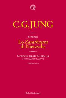 Associazionelabirinto.it Lo «Zarathustra» di Nietzsche. Seminario tenuto nel 1934-39. Vol. 3 Image