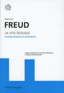 La vita sessuale - Sigmund Freud - copertina