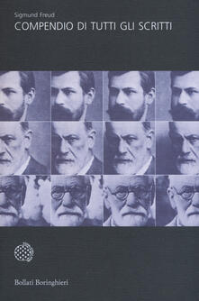 Compendio di tutti gli scritti - Sigmund Freud - copertina