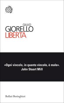 Libertà - Giulio Giorello - copertina