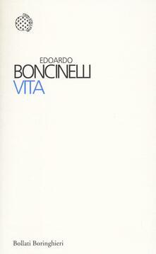 Vita - Edoardo Boncinelli - copertina