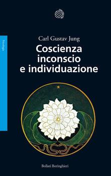 Coscienza inconscio e individuazione - Carl Gustav Jung - copertina
