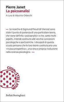 La psicoanalisi - Pierre Janet - copertina