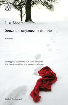 Senza un ragionevole dubbio - Lisa Moore - copertina