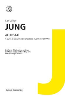 Aforismi dell'inconscio - Carl Gustav Jung - copertina