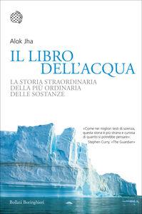 Foto Cover di Il libro dell'acqua. La storia straordinaria della più ordinaria delle sostanze, Libro di Alok Jha, edito da Bollati Boringhieri