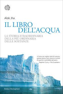 Il libro dell'acqua. La storia straordinaria della più ordinaria delle sostanze - Alok Jha - copertina