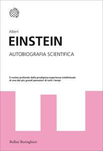 Libro Autobiografia scientifica Albert Einstein