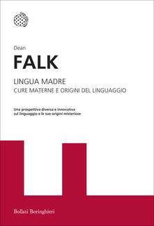 Librisulladiversita.it Lingua madre. Cure materne e origini del linguaggio Image