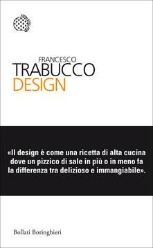 Design - Francesco Trabucco - copertina