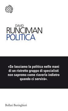 Politica - David Runciman - copertina