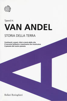 Storia della Terra - Tjeerd H. Van Andel - copertina