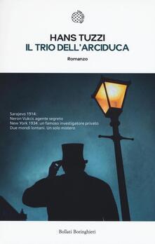 Il trio dell'arciduca - Hans Tuzzi - copertina