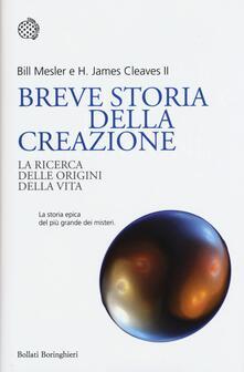 Writersfactory.it Breve storia della creazione. La ricerca delle origini della vita Image