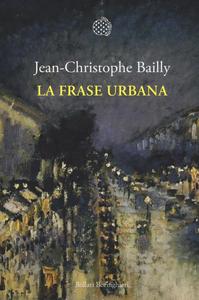 Libro La frase urbana Jean-Christophe Bailly