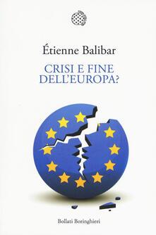 Radiospeed.it Crisi e fine dell'Europa? Image