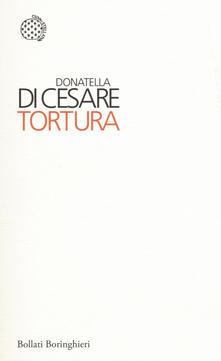 Tortura - Donatella Di Cesare - copertina