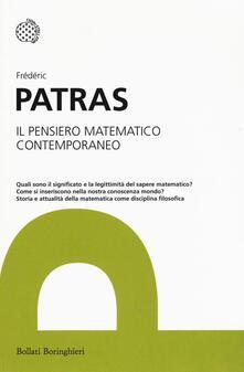 Il pensiero matematico contemporaneo.pdf