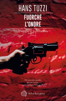 Fuorché l'onore - Hans Tuzzi - copertina