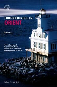 Orient - Bollen Christopher - copertina