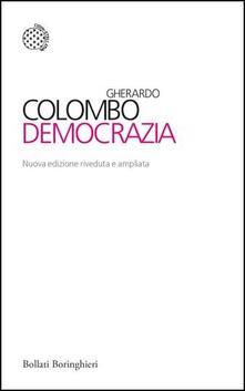 Democrazia - Gherardo Colombo - copertina