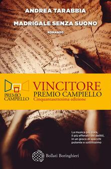 Madrigale senza suono - Andrea Tarabbia - copertina