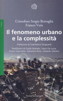 Il fenomeno urbano e la complessità.pdf