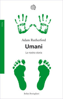 Umani. La nostra storia - Adam Rutherford - copertina