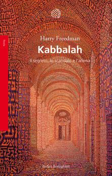 Filippodegasperi.it Kabbalah. Il segreto, lo scandalo e l'anima Image