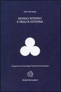 Libro Mondo interno e realtà esterna Otto F. Kernberg