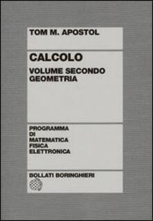 Listadelpopolo.it Calcolo. Vol. 2: Geometria. Image